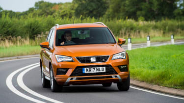 SEAT Ateca FR - front action