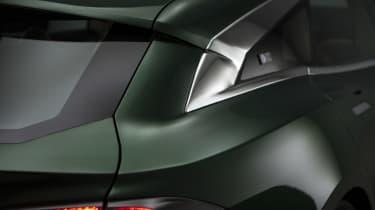 Tesla Model S Shooting Brake estate rear end static