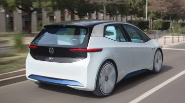 Volkswagen I.D. - rear