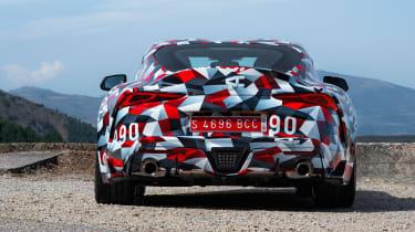 Toyota Supra prototype - full rear