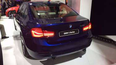 BMW 3 Series facelift - rear