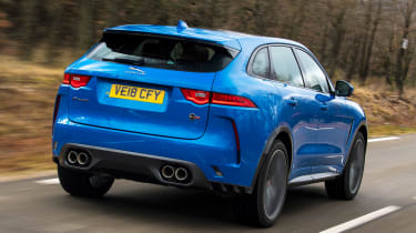 Jaguar F-Pace SVR - rear