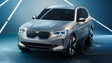 BMW iX3 - plugged-in