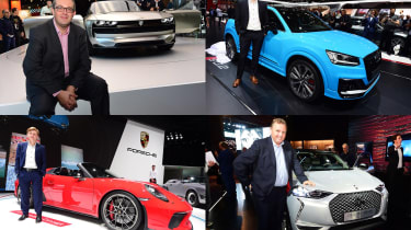 2018 Paris Motor Show stars - header