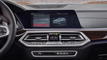 BMW X5 - infotainment