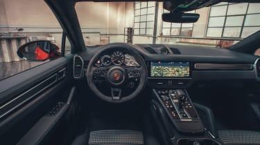 Porsche Cayenne Coupe - interior