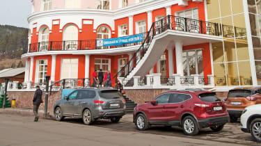 Nissan Qashqai in Russia