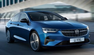 2020 Vauxhall Insignia facelift - front tracking