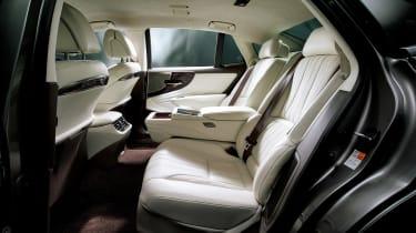 Lexus LS review - back seats