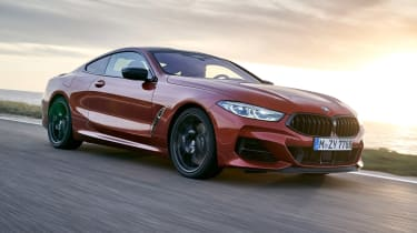 BMW 8 Series - front tracking