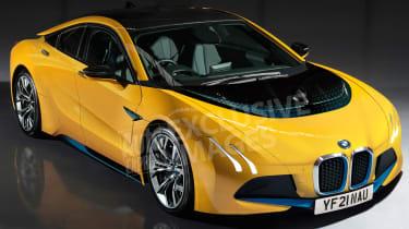 BMW i5 2021 render - front