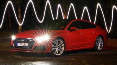 Audi A7 Sportback - laser lights