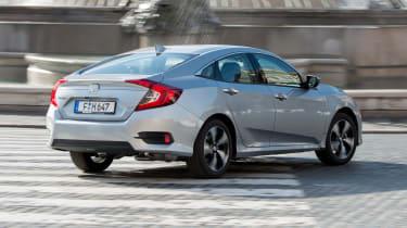 Honda Civic Saloon - rear cornering