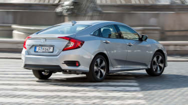 Honda Civic Saloon - rear cornering