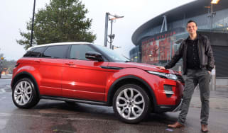 Range Rover Evoque front static