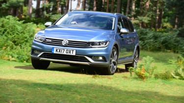 Volkswagen Passat Alltrack - grass