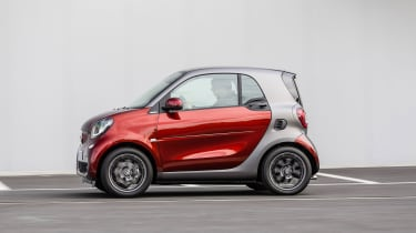 Smart ForTwo side