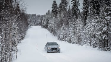 Mercedes A-Class 2018 ride wide