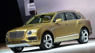 Bentley Bentayga at Frankfurt