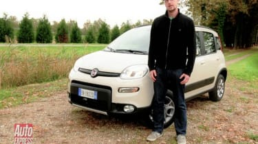 Fiat Panda 4x4 video review
