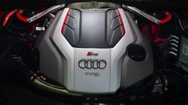 Audi RS 4 Avant long termer first report - engine