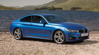 Used BMW 4 Series - front static