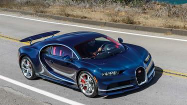 Bugatti Chiron - The Quail front quarter 3
