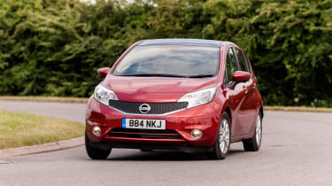 Nissan Note 2014 front action