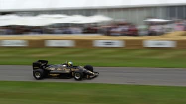 This John Player Special livery is iconic - F1 fans will instantly recognise it as a Lotus.