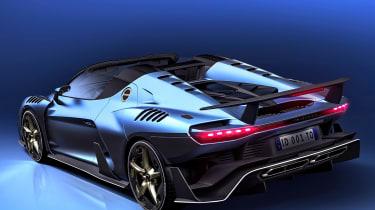 Italdesign Zerouno Duerta convertible - rear