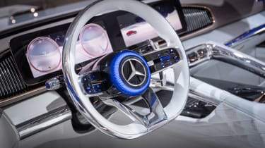 Vision Mercedes-Maybach Ultimate Luxury concept - steering wheel