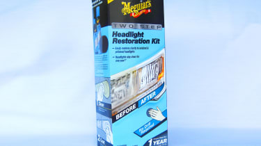 Meguiar's Two Step Headlight Restoration Kit