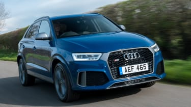 Audi RS Q3 Performance 2016 - front tracking