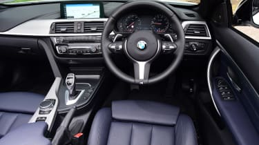 BMW 430i Convertible - dash
