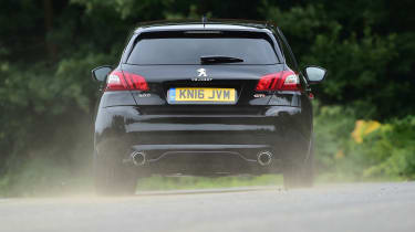 Long-term test review Peugeot 308 GTi - rear cornering