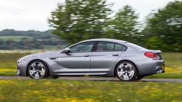 BMW M6 Gran Coupe - side