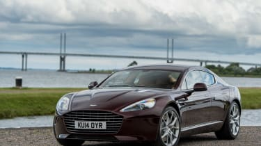 Aston Martin Rapide S 2014 front on