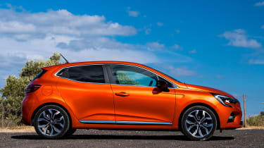 Renault Clio - side static