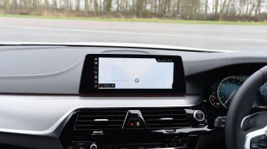 BMW 5 Series 520d xDrive 2017 - infotainment