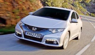 Honda Civic 1.6 i-DTEC front tracking