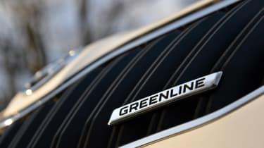 Skoda Yeti Greenline badge