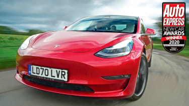 The Tesla Model 3 is one of the best EVs around: practical, high-tech and boasting great performance and range.