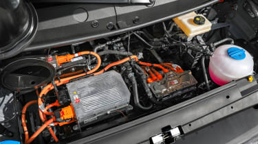 Volkswagen e-Crafter engine bay