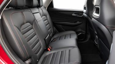 MG HS PHEV - rear seats
