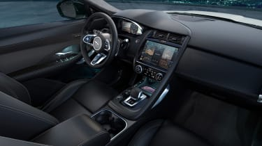 Jaguar E-Pace R-Dynamic Black - cabin