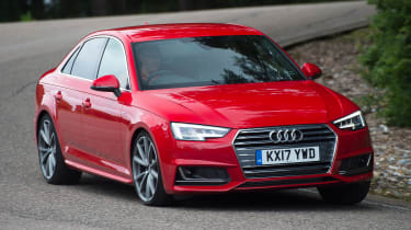 Used Audi A4 Mk5 - front cornering