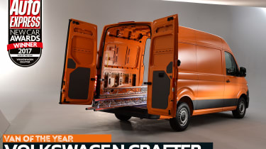 Van of the Year 2017 - Volkswagen Crafter