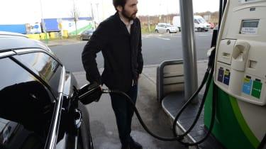 Ford Mondeo Vignale road trip - refuel