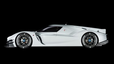 GR Super Sport - side profile