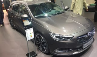 Vauxhall Insignia Sports Tourer Geneva - front